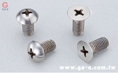 Flat Head 、 Button Head Phillips Ti-Bolt