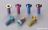 Motorcycle Disc Ti-Colorful Bolt Anodized